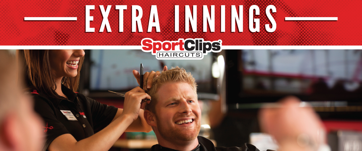 The Sport Clips Haircuts of Natomas Promenade Extra Innings Offerings